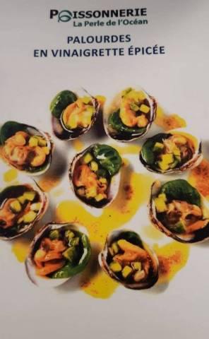 Palourdes en vinaigrette épicée